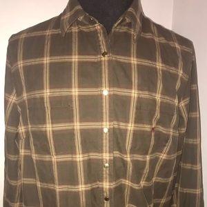 Men's Ralph Lauren long sleeve snap shirt size 2X